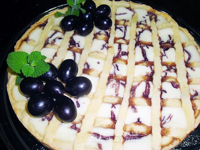 Crostata de uva