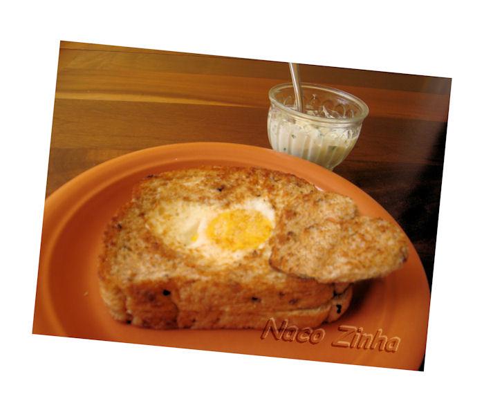 Tostada de ovo