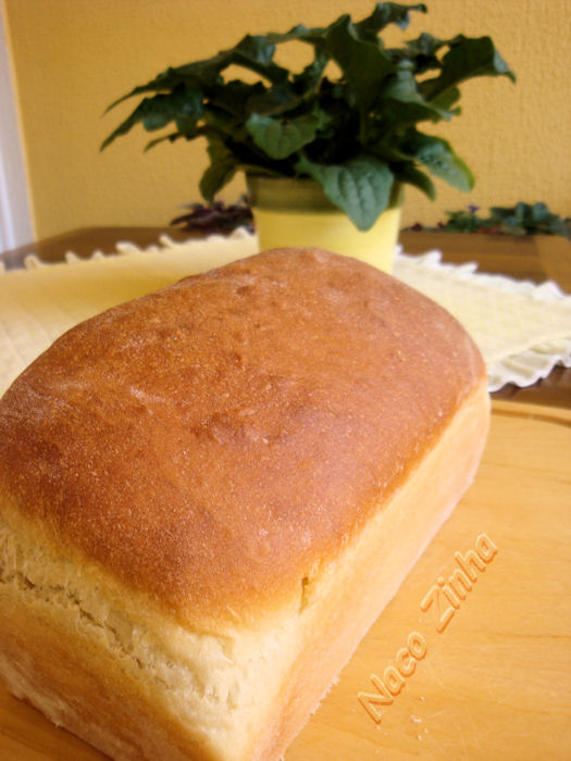Pão de forma com soro de leite