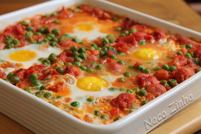 Ovos à flamenca