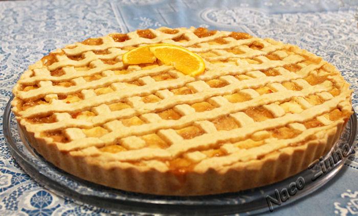 Crostata de laranja