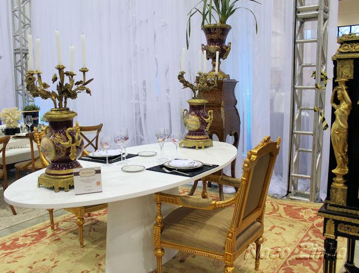 Feira Mundo Gastronômico - decoração de mesa francesa