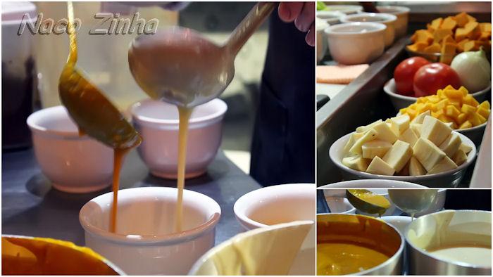 Comida creoule - preparo da sopa de manga