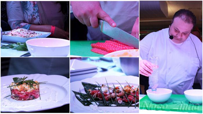 Tartar de salmão - Chef Erick Jacquin