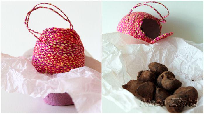 Presente especial de páscoa - ovinho artesanal