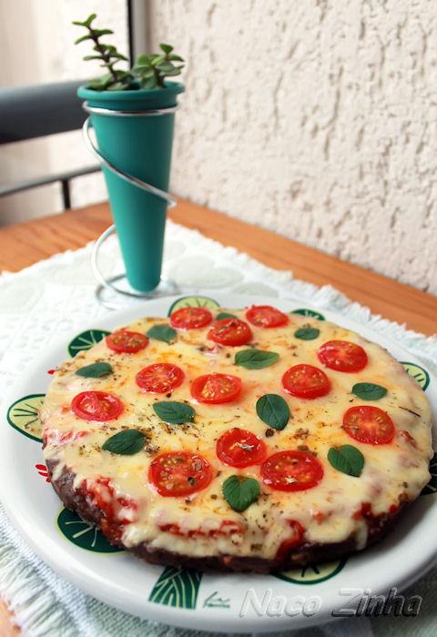 Pizza de carne moida