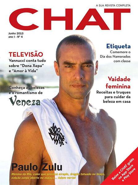 O NacoZinha na Revista Chat