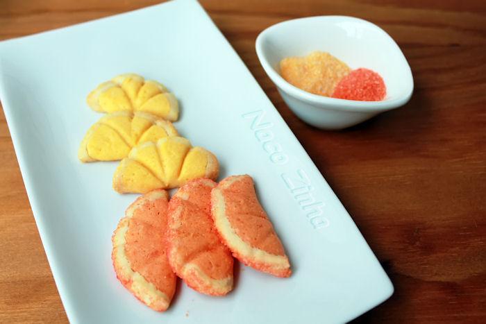Biscoitos cítricos