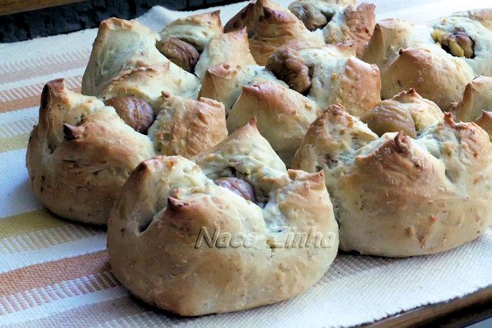 Pão de castanha portuguesa