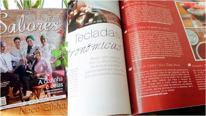 Nacozinha Revista Sabores do Sul