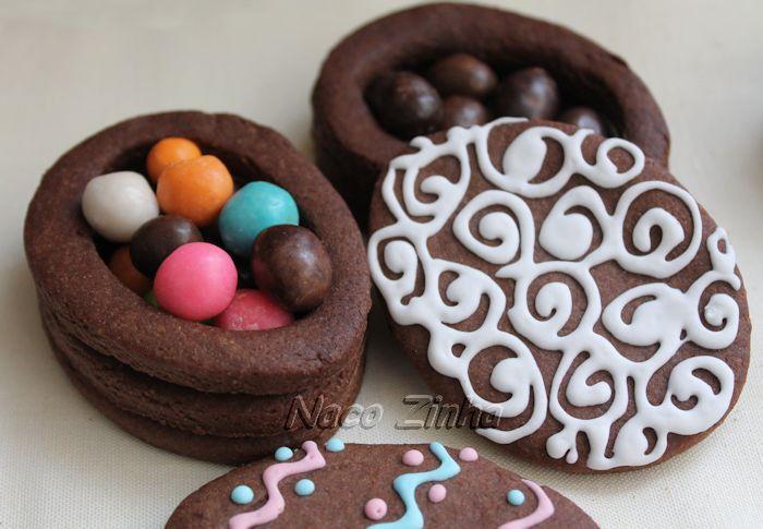 Caixinha de biscoito decorada