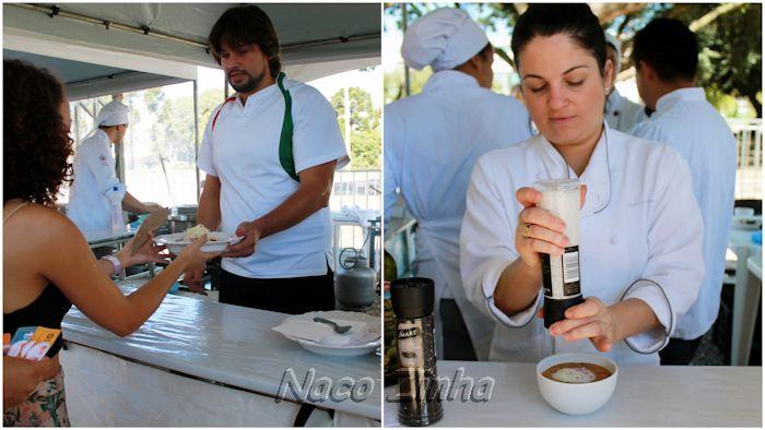 Chefs Dudu Sperandio e Chef Bárbara Verzola