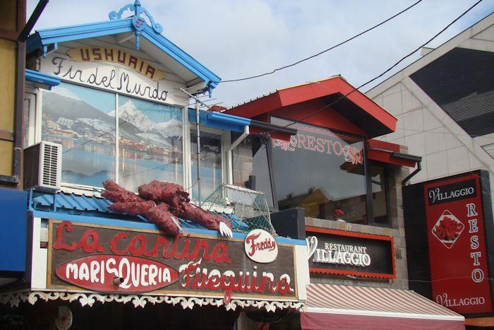 Restaurante em Ushuaia, Argentina