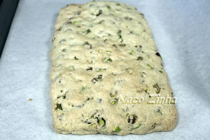 Biscotti de pistache - massa