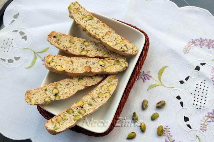 Biscotti de pistache