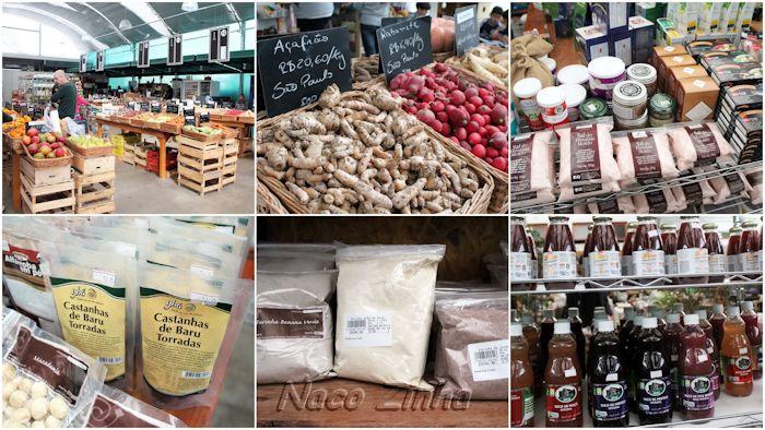 Produtos orgânicos - Mercado São Jorge - Florianópolis (SC)
