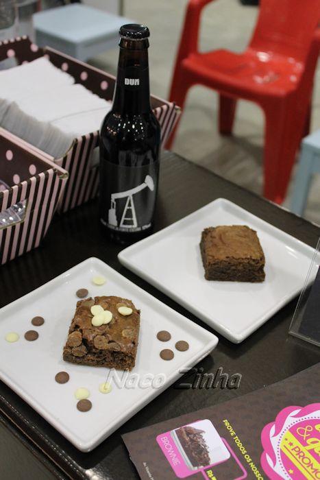 Feira Mundo Gastronômico - brownie com cerveja escura