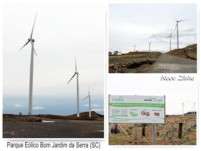 Parque Eólico Bom Jardim da Serra (SC)