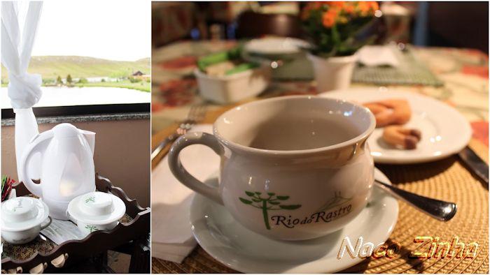 Chá da tarde no Rio do Rastro Eco Resort