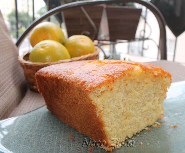 Bolo inglês de laranja e limão