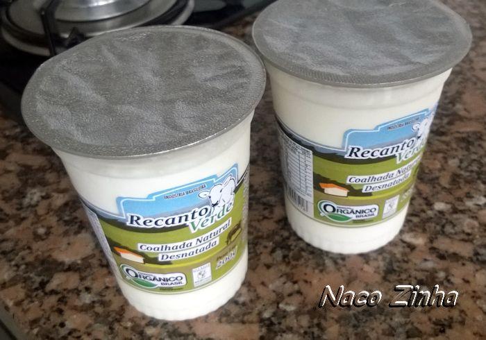 Sítio Recanto Verde - coalhada desnatada orgânica