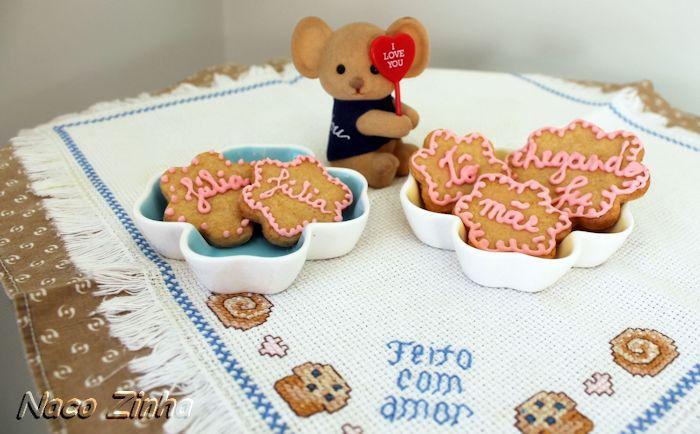 Biscoito de melado e gengibre