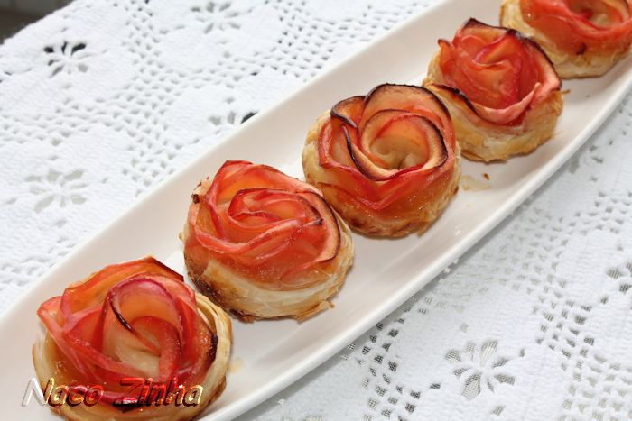 Rosas de maçã (Apple roses)