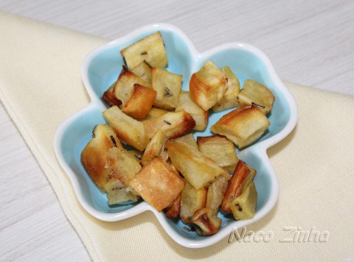 croûtons de batata doce