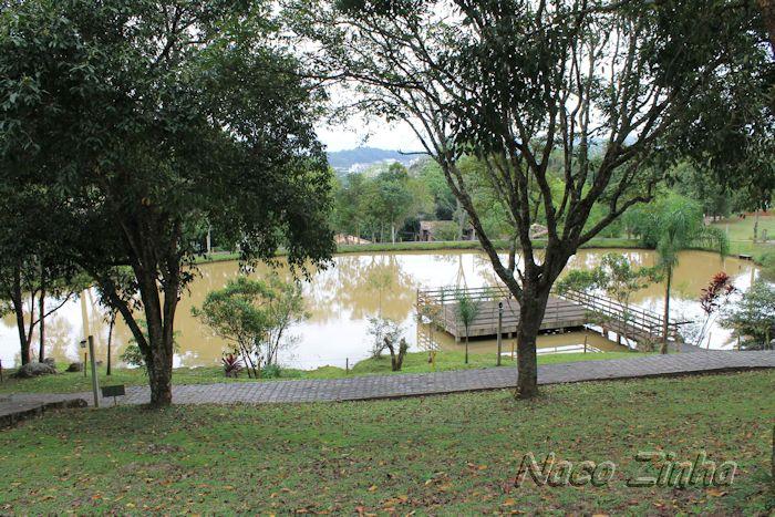 Lago do Museu ao ar Livre Princesa Isabel