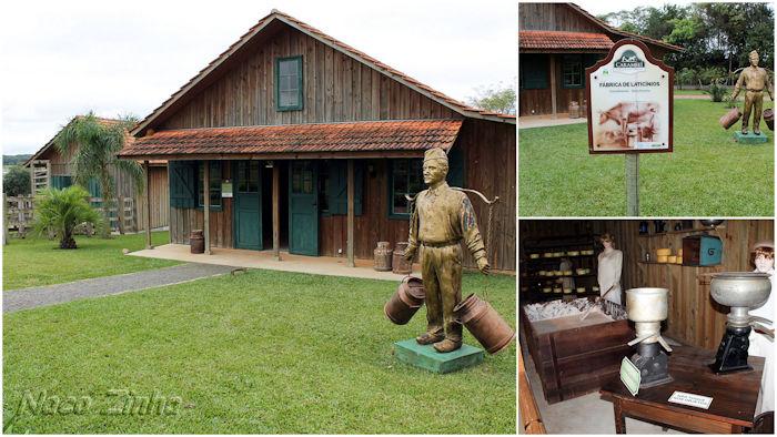 Parque Histórico- de Carambeí - Fábrica de laticínios
