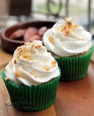 Cupcake de pinhão