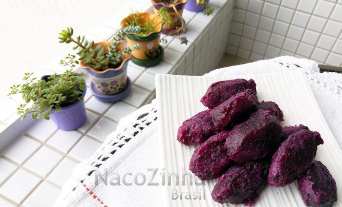 Doce de batata doce roxa