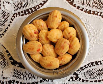 Madeleine de tomate seco