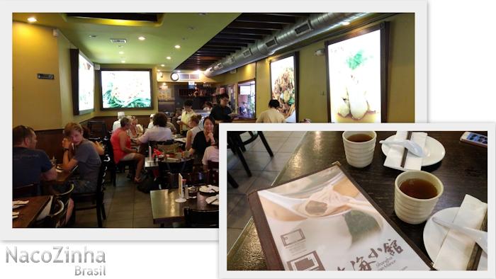 Restaurante chinês (Shangai Asian Manor)