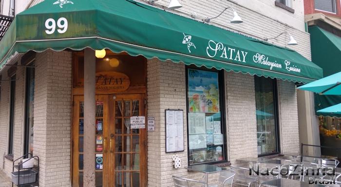 Restaurante malasiano (Satay Lalaysian Cuisine) - Hoboken, Nova Jersey