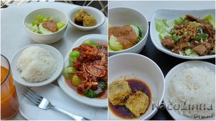 Restaurante tailandês (Tue Thai Food) - Nova Iorque