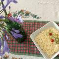 Maionese decorada com flor de pepino