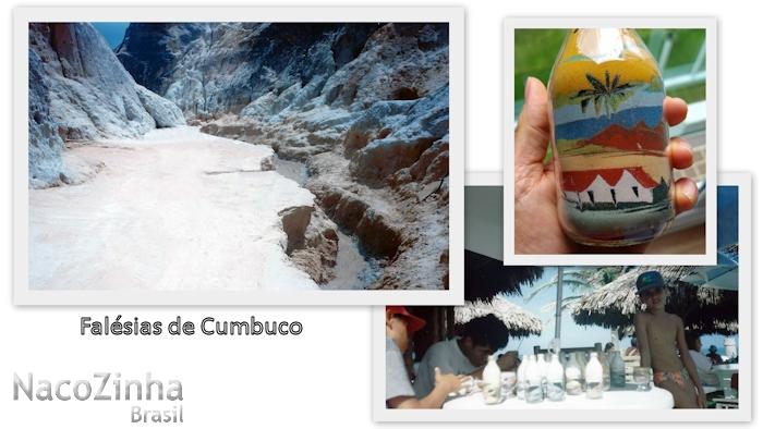 Cumbuco - falésias e artesanato