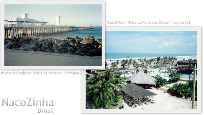 Ponte dos Ingleses e Beach Park no Ceará