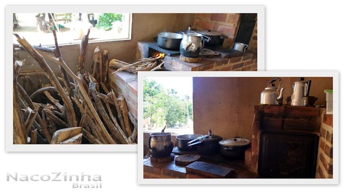 Emboacica - fogão e forno à lenha