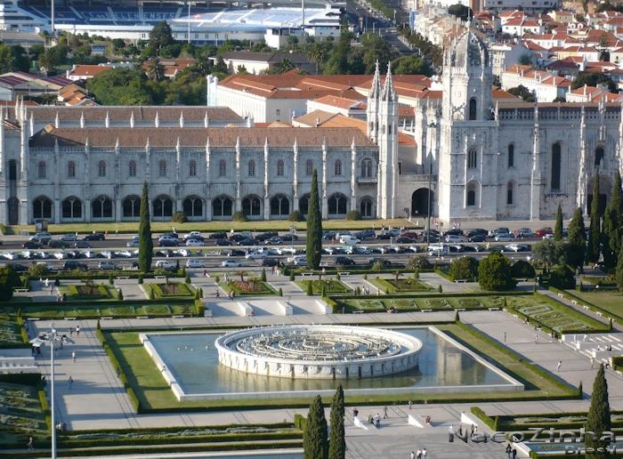 Lisboa - Mosteiro dos Jerônimos e Praça do Império