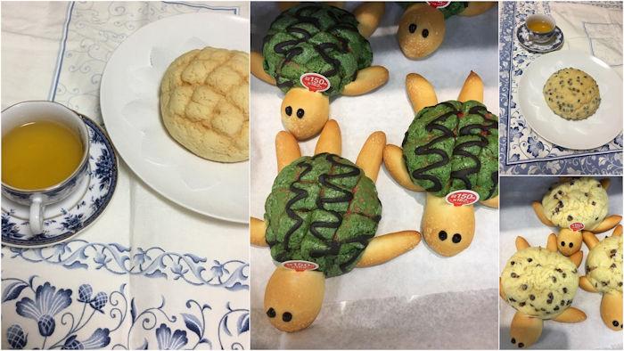 Melon-pan - o pão japonês