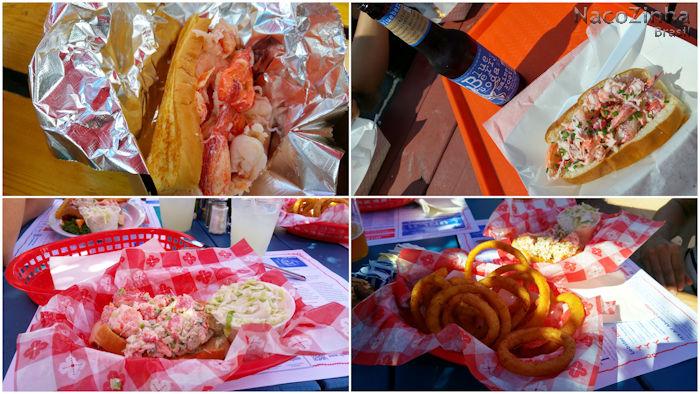 Tradições culinárias do Maine, Estados Unidos - Sanduíche de lagosta (Lobster roll)