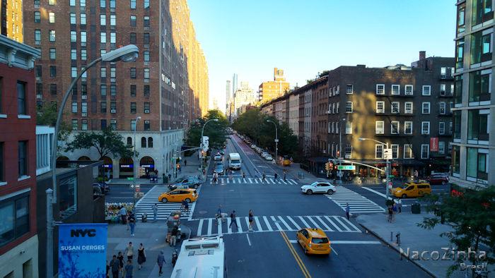High Line - vista da 10ª Avenida