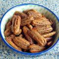 Nozes-pecãs caramelizadas com especiarias