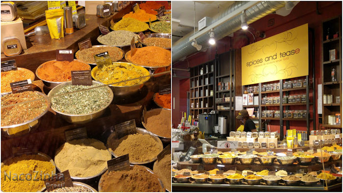 Chelsea Market - Spices and Tease