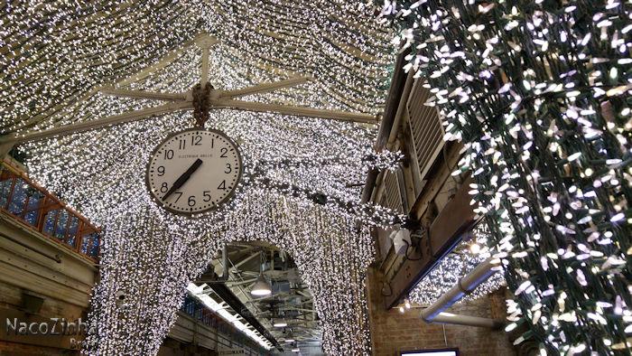 Chelsea Market - relógio