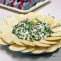 Patê de queijo natalino para a sua confraternização