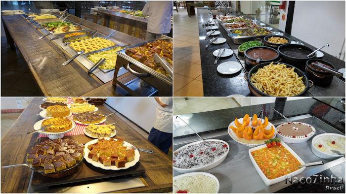 Hotel Fazenda Dona Francisca - refeições