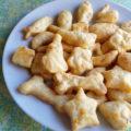 Biscoitos de queijo para fazer com as crianças